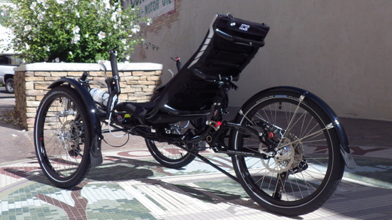 ICE Adventure RS Recumbent Trike
