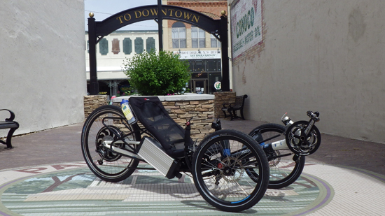HP Velo Scorpion FS 26 Folding Trike