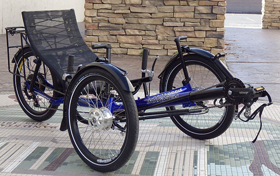 Greenspeed Magnum XL Folding Trike