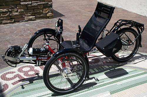 James Custom Touring Trike