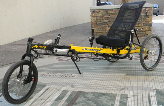Utah Trikes Troy S Greenspeed Anura