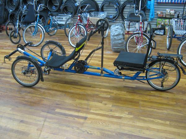 Utah Trikes Handcycle Tandem