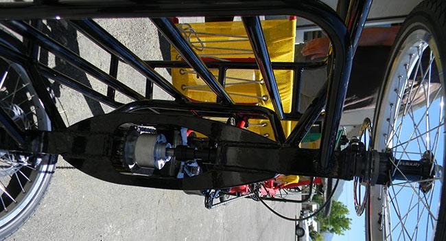 Utah Trikes Greenspeed Tandem Quad Conversion