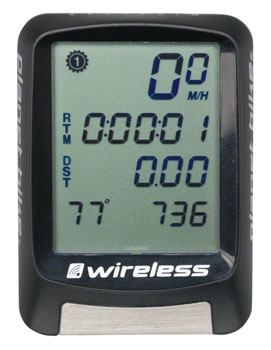 Planet Bike Protege 9.0 Wireless Computer - Nine Function - Black
